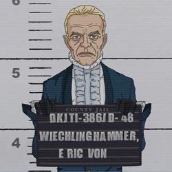 Eric Von Wiechlinghammer County Jail 205