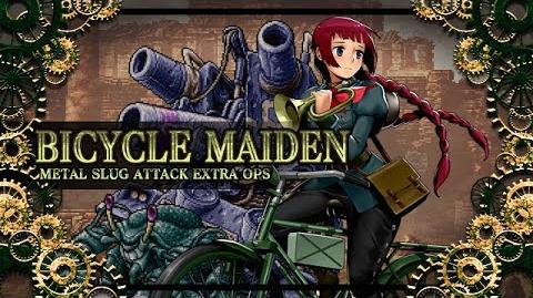 BICYCLE MAIDEN: MSA EXTRA OPS