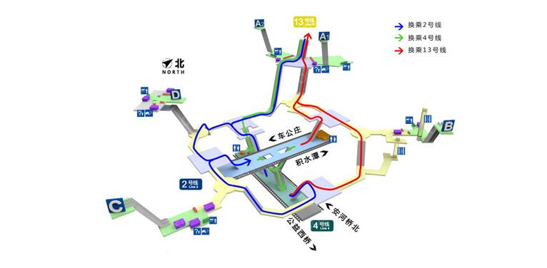Xizhimen BJ map