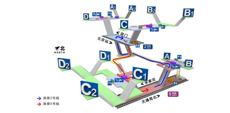 Chongwenmen BJ map