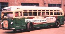 CR & L BUS -6 NOBLE AVE. & SEASIDE PARK BPT. CT 1950s
