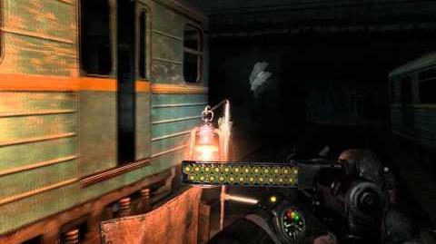 Metro 2033 (Action hardcore challenge walkthrough) Depot