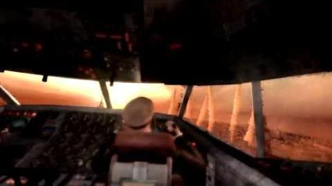 Metro Last Light Airplane Crash Scene - FULL - 1080p - w English Subs