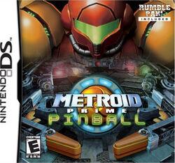 Обложка коробки Metroid Prime Pinball