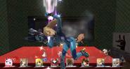 Screen KO Zero Suit Samus