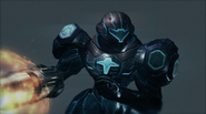 PED suit CORRUPTED (Metroid Prime trilogy)