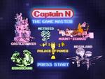 Captain N DVD Menu