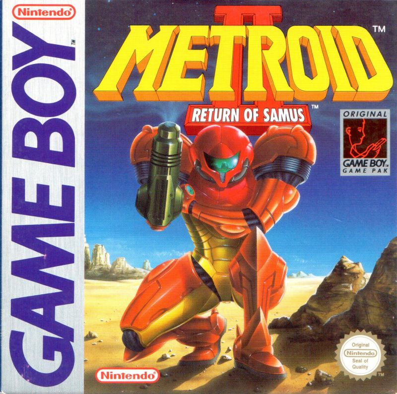 Image result for metroid 2 box arts compared