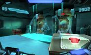 Metroid cryogenic containment room