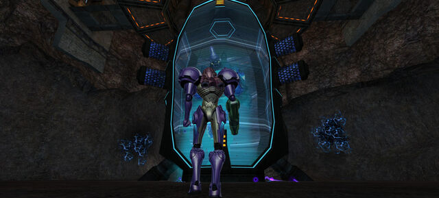 File:Samus approaches Omega Pirate.jpg