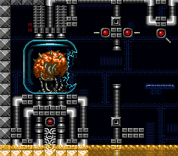 File:Mother Brain - First Form - Super Metroid.png