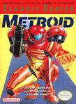 Metroid NA 1992 rerelease boxart