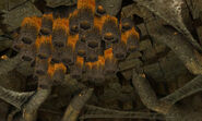 Burn Dome barbed war wasp hive dolphin hd