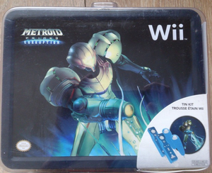 Metroid Prime 3 Corruption Tin Kit