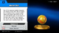 Morph Ball trophy