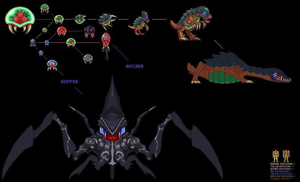 Xenomorph Samus – Dibujos Para Colorear