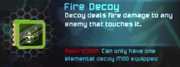 Fire Decoy