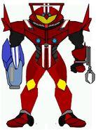 Samus Tridoron Suit design