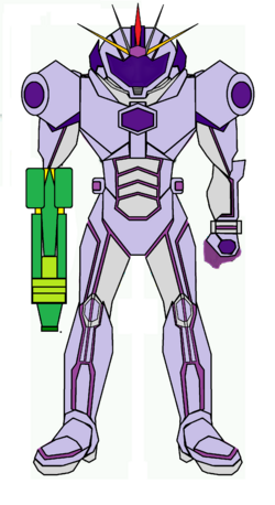 Athena suit 4.0 arm cannon