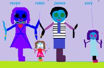 The raven family.