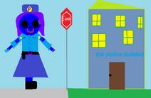 Raven the police women.
