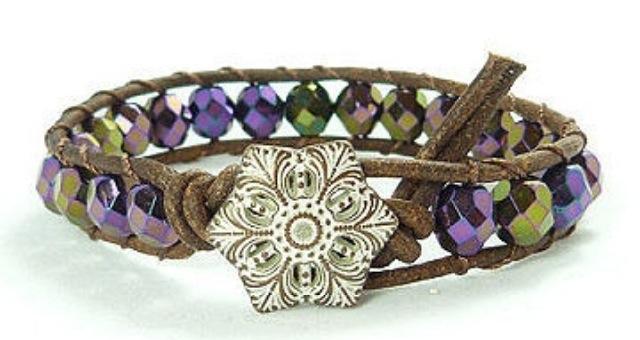 File:Rope & beads bracelet.jpg