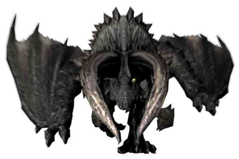 Black diablos monster hunter frontier korean wiki for Piscine wyvern mhw