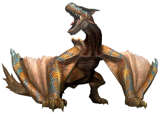 Tigrex - MH4U - Kiranico - Monster Hunter 4 Ultimate Database