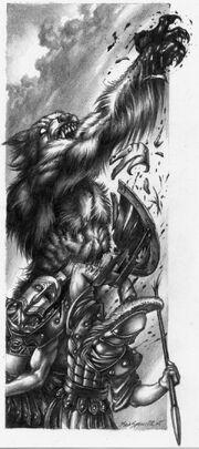 Werewolf vs spartan