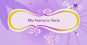 My name is Varia