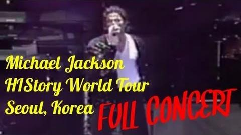 HIStory: Live in Seoul 1996