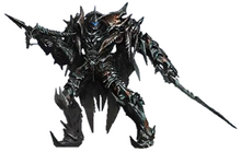 Transformers age of extinction strafe robot mode by tfprime1114-d7onggx