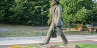 Keweenaw Copper Miner Statue