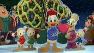Donald daisy nephews christmas
