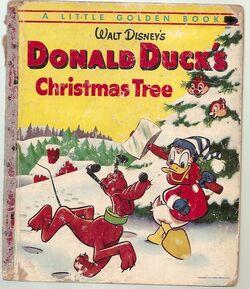 Donald christmas tree