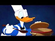 Donald samples soup