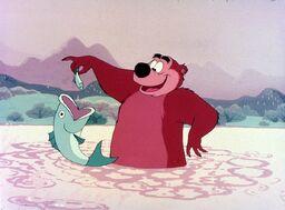 Humphrey and fish