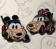Mickey minnie customized cars