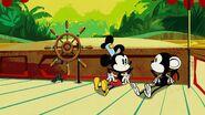 Mickey and monkey
