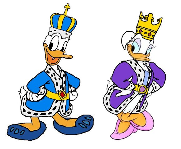 File:King Donald And Queen Daisy (Pluto's Tale).jpg