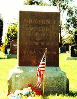 Norton grave