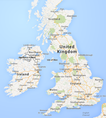 File:Political Map Of Southern Ireland UK.png