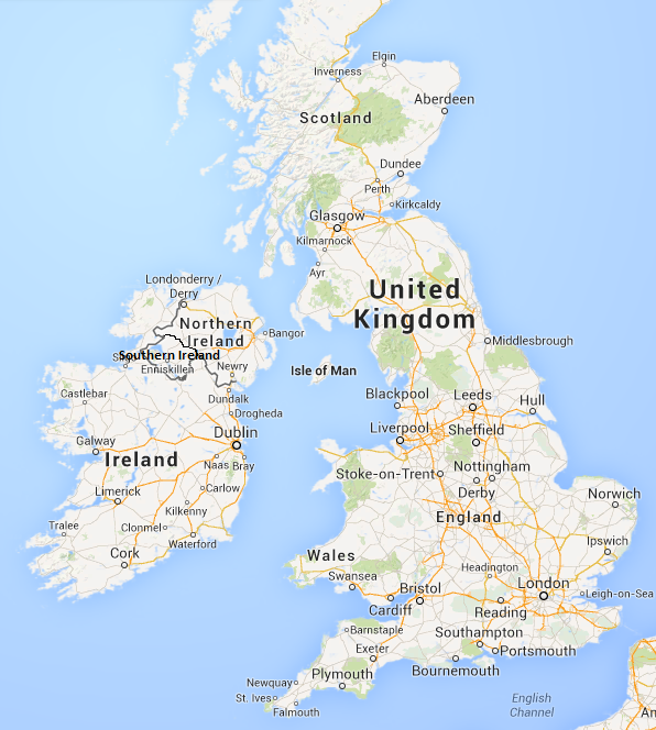 Image  Political Map Of Southern Ireland UKpng  MicroWiki