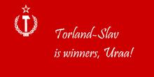 Torland-slavs victory flag