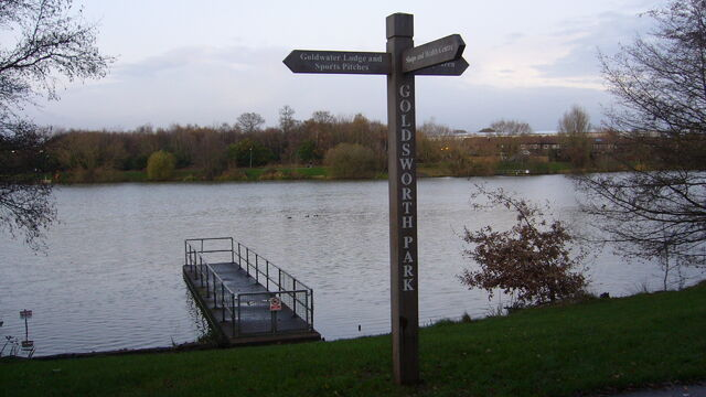 File:Goldsworth Park Lake.jpg