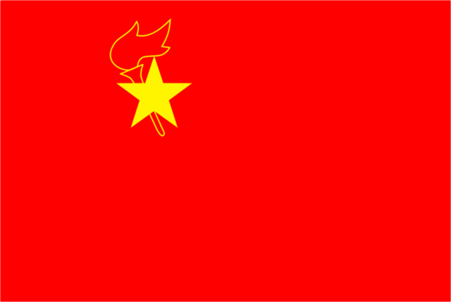 File:Flag of the Japuchean Juche Idea.png