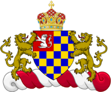 The flag of the queen of fikland