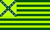 Cockatiel Green Party Flag