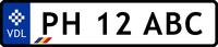 VDL Romanian autoplate