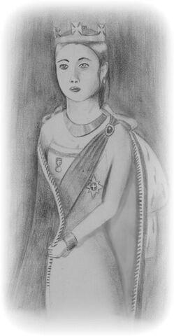 File:Her Majesty Queen Frances I of Moylurg. Queen Regent and Autocrat of Moylurg..jpg